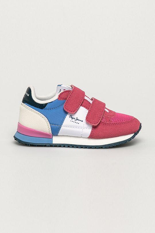 bledofialový Pepe Jeans - Detské topánky Sydney Dievčenský