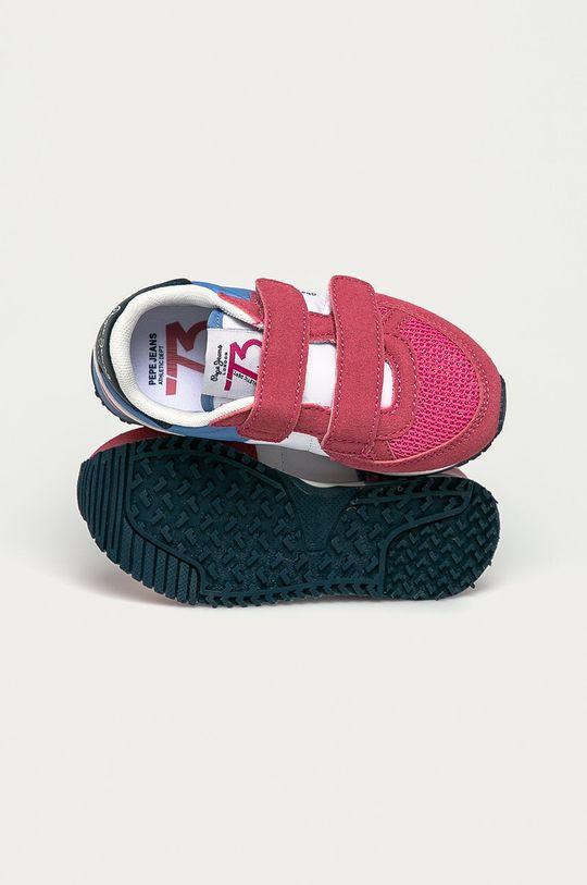 bledofialový Pepe Jeans - Detské topánky Sydney