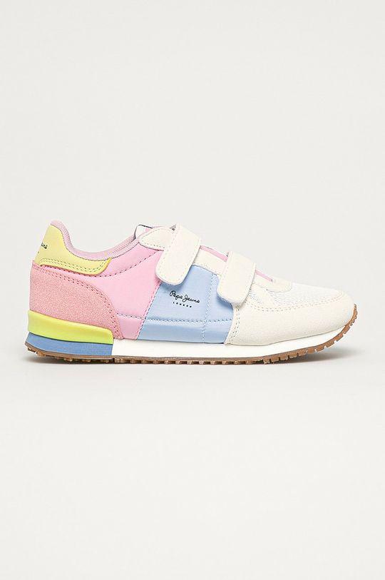 viacfarebná Pepe Jeans - Detské topánky Sydney Dievčenský