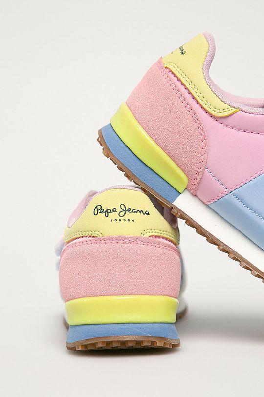 Pepe Jeans - Detské topánky Sydney  Zvršok: Syntetická látka, Textil Vnútro: Textil Podrážka: Syntetická látka