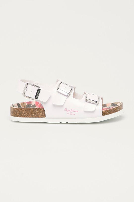 bílá Pepe Jeans - Dětské sandály Bio Basic Dívčí