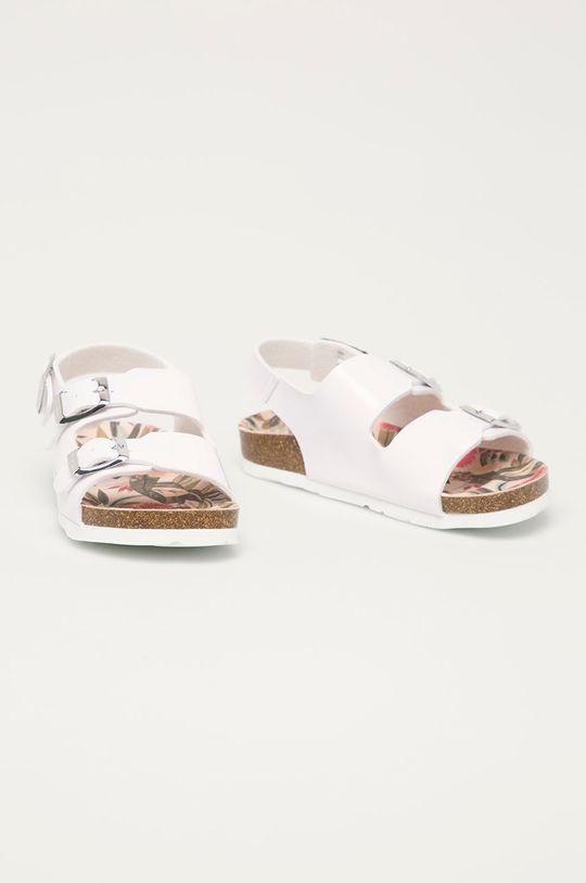 Pepe Jeans - Dětské sandály Bio Basic bílá