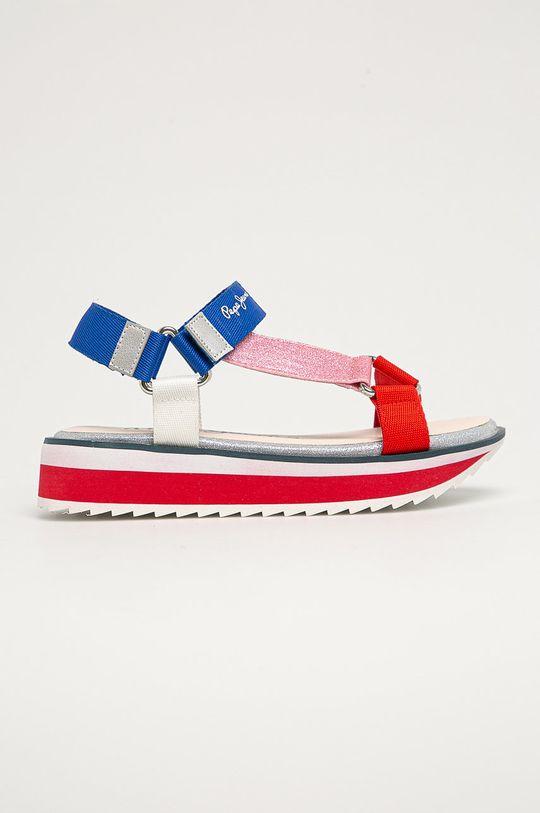 multicolor Pepe Jeans - Sandały dziecięce Alexa Trek Dziewczęcy