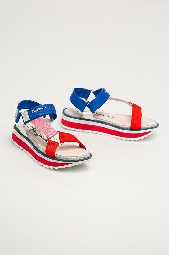 Pepe Jeans - Sandały dziecięce Alexa Trek multicolor