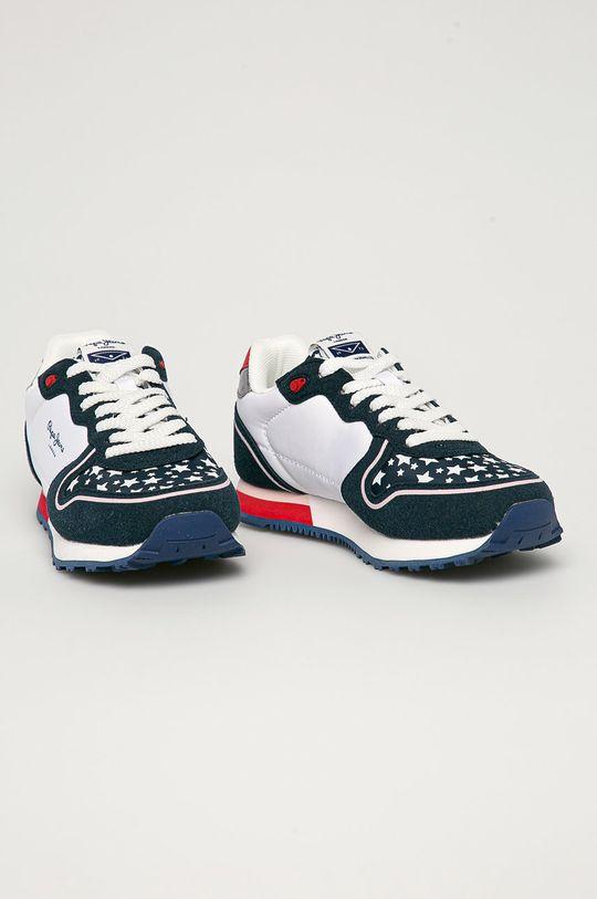 Pepe Jeans - Dětské boty Klein Stars námořnická modř