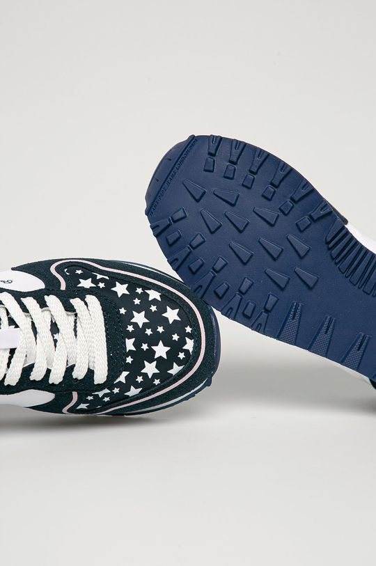 námořnická modř Pepe Jeans - Dětské boty Klein Stars
