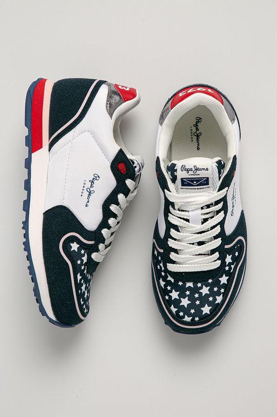 Pepe Jeans - Dětské boty Klein Stars Dívčí