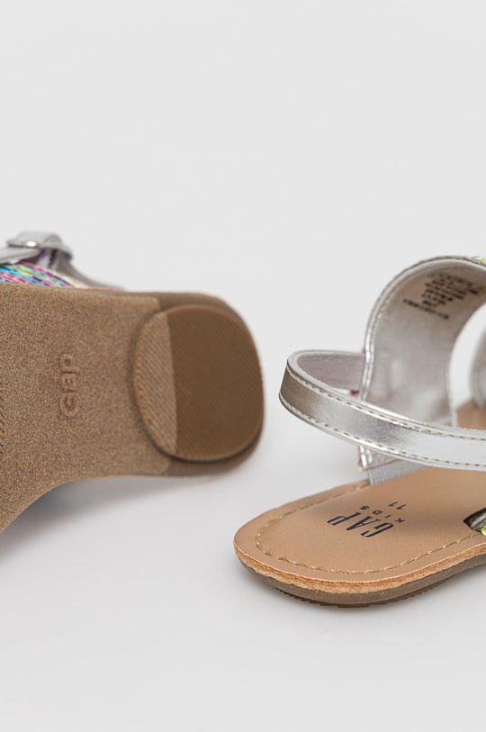 GAP - Sandały dziecięce Cholewka: Materiał syntetyczny, Materiał tekstylny, Wnętrze: Materiał syntetyczny, Podeszwa: Materiał syntetyczny, Materiał tekstylny