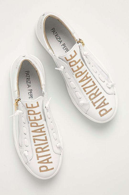 Patrizia Pepe - Dětské kožené boty Dívčí