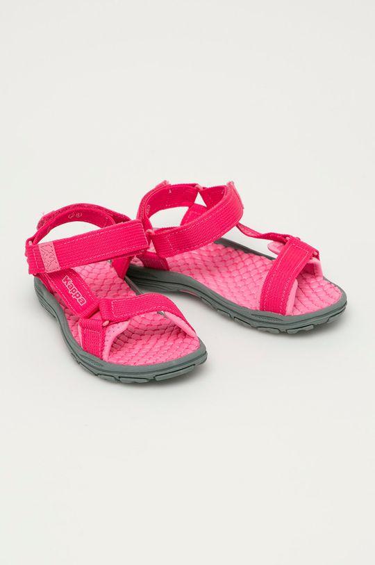 Kappa - Dětské sandály Mortara ostrá růžová