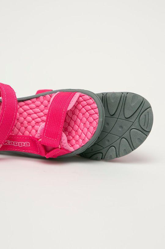 ostrá růžová Kappa - Dětské sandály Mortara