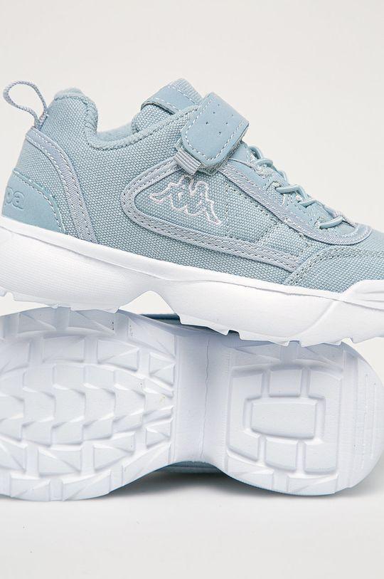 světle modrá Kappa - Dětské boty Rave Sun