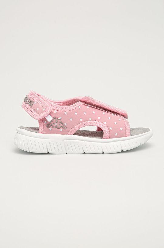 růžová Kappa - Dětské sandály Kayo Dívčí