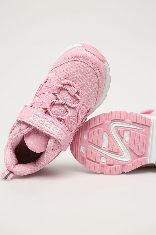 ružová Kappa - Detské topánky Yaka