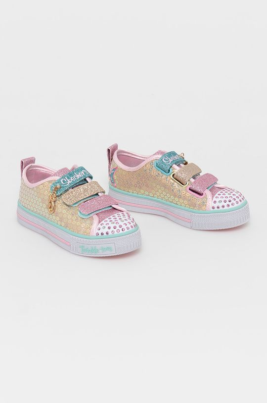 Skechers - Buty dziecięce złoty