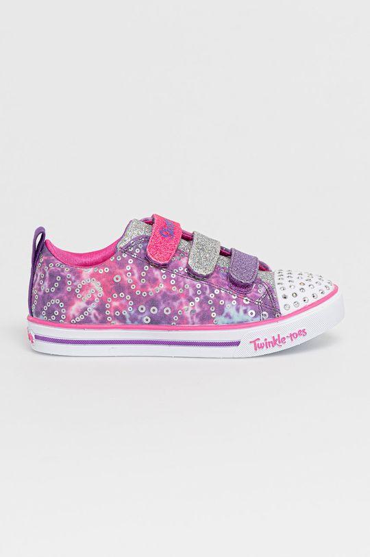 fioletowy Skechers - Buty dziecięce Dziewczęcy