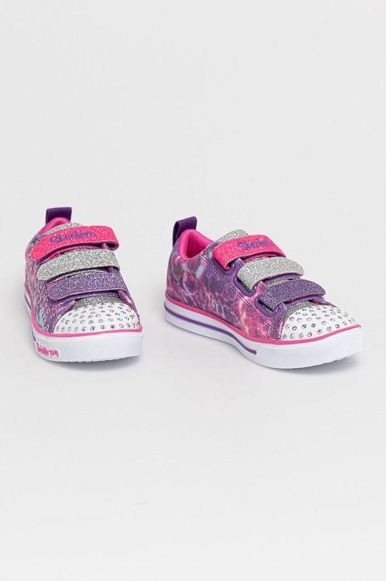 Skechers - Buty dziecięce fioletowy