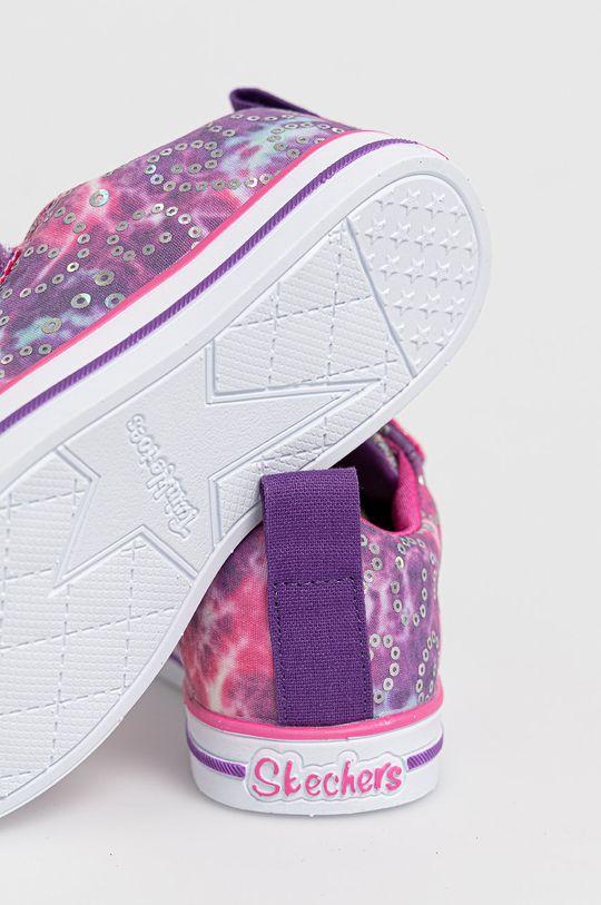 Skechers - Buty dziecięce Cholewka: Materiał tekstylny, Wnętrze: Materiał tekstylny, Podeszwa: Materiał syntetyczny