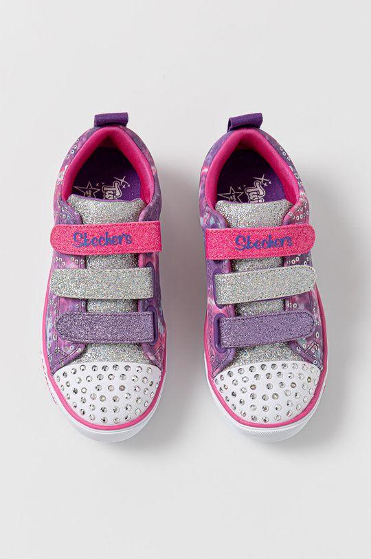 fioletowy Skechers - Buty dziecięce
