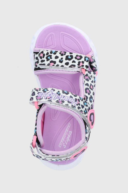 biela Skechers - Detské sandále