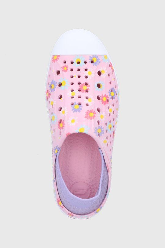 pastelowy różowy Skechers - Tenisówki dziecięce