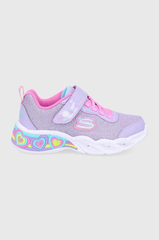 lavanda Skechers - Pantofi copii De fete