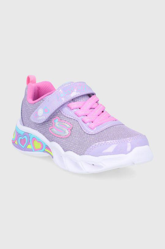 Skechers - Pantofi copii lavanda