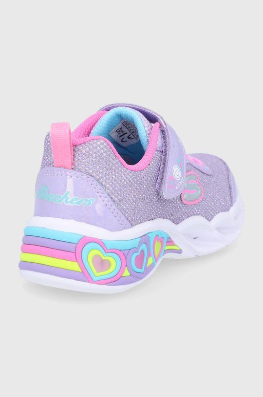 Skechers - Pantofi copii  Gamba: Material sintetic, Material textil Interiorul: Material textil Talpa: Material sintetic