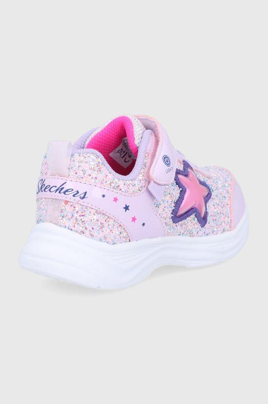Skechers - Dětské boty  Svršek: Umělá hmota Vnitřek: Textilní materiál Podrážka: Umělá hmota