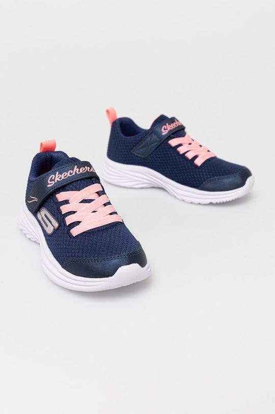 Skechers - Dětské boty námořnická modř