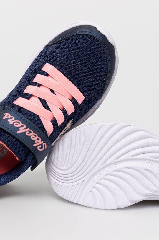 námořnická modř Skechers - Dětské boty