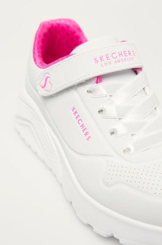 bílá Skechers - Dětské boty