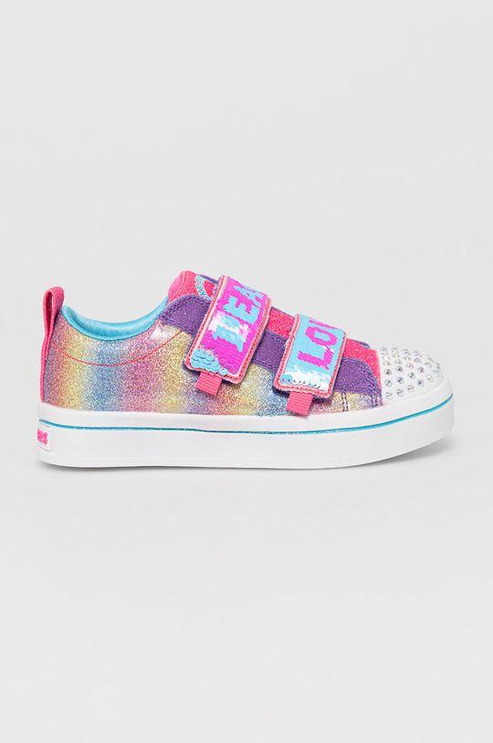 vícebarevná Skechers - Dětské boty Dívčí