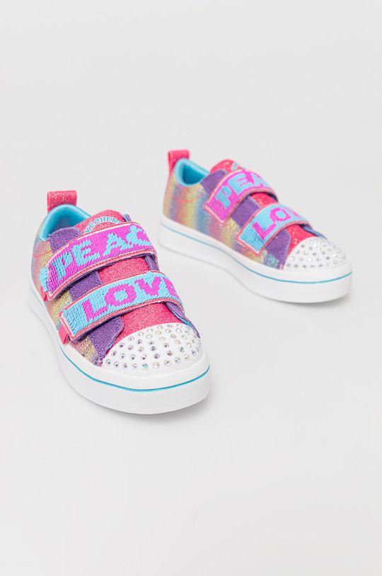 Skechers - Dětské boty vícebarevná