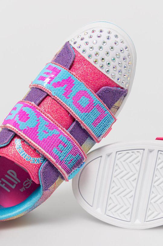 vícebarevná Skechers - Dětské boty