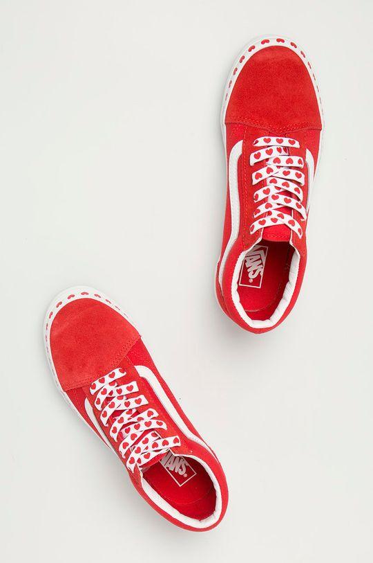 czerwony Vans - Tenisówki dziecięce