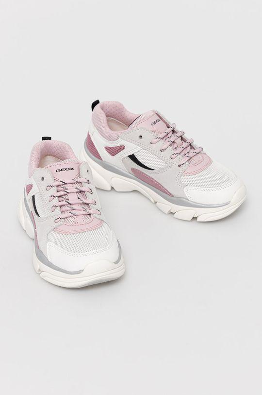 Geox - Detské topánky biela
