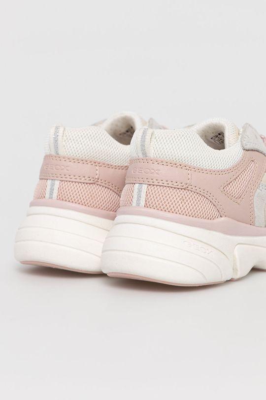 Geox - Detské topánky  Zvršok: Syntetická látka, Textil, Semišová koža Vnútro: Textil, Prírodná koža Podrážka: Syntetická látka