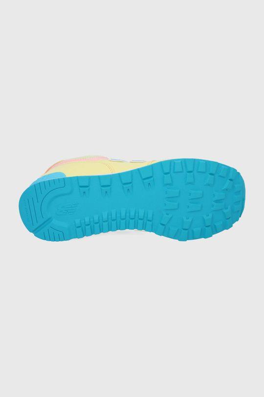 New Balance - Buty dziecięce GC574BYS Dziewczęcy