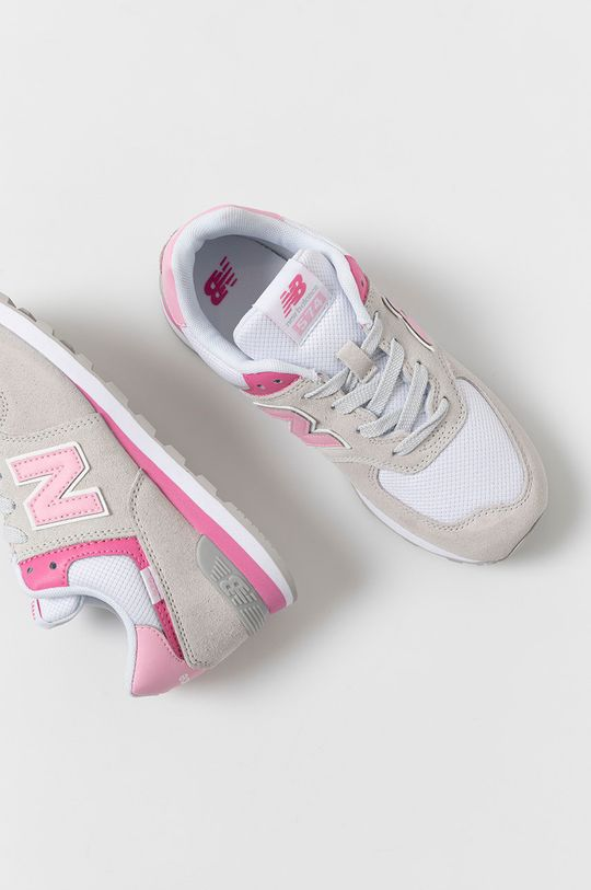 jasny szary New Balance - Buty dziecięce GC574SA2