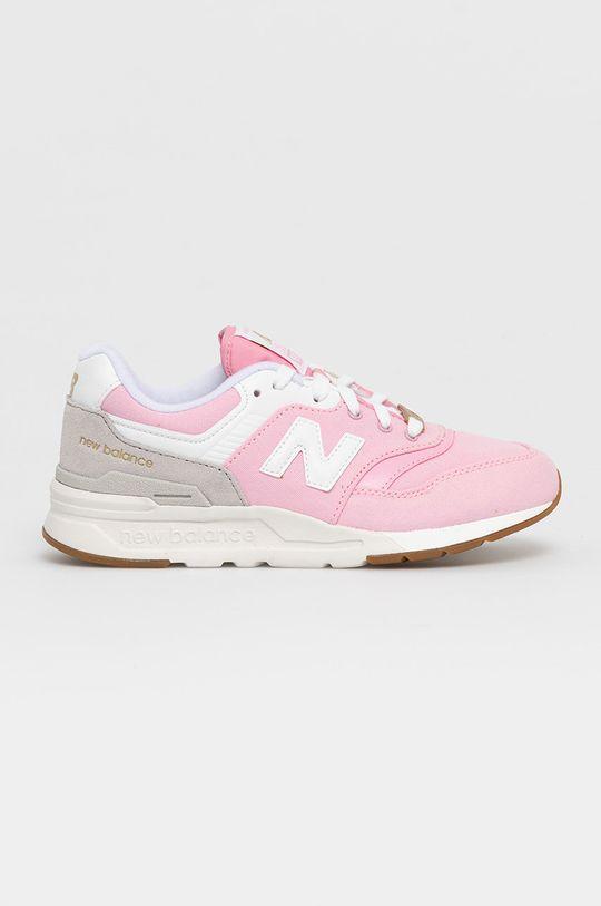 ružová New Balance - Detské topánky GR997HHL Dievčenský