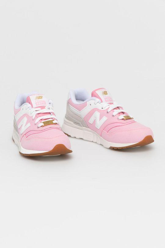 New Balance - Detské topánky GR997HHL ružová