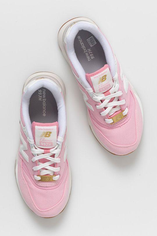 ružová New Balance - Detské topánky GR997HHL