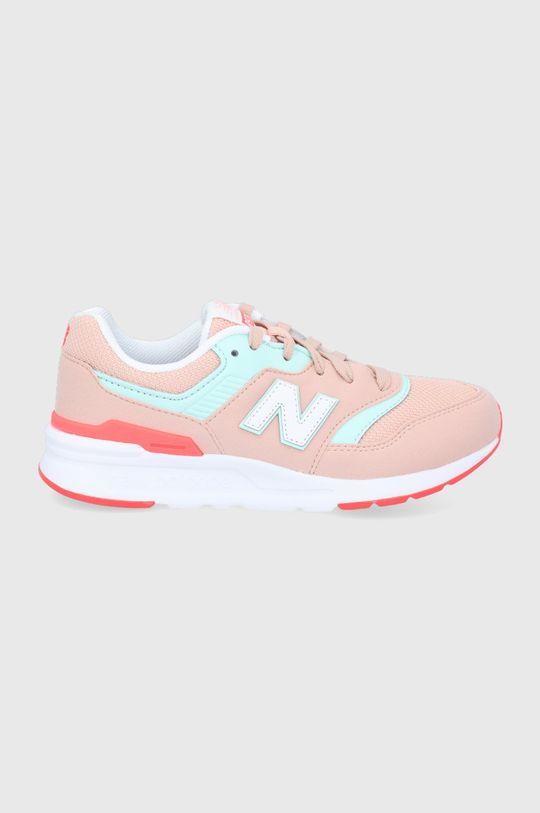 roz New Balance - Pantofi copii GR997HSG De fete