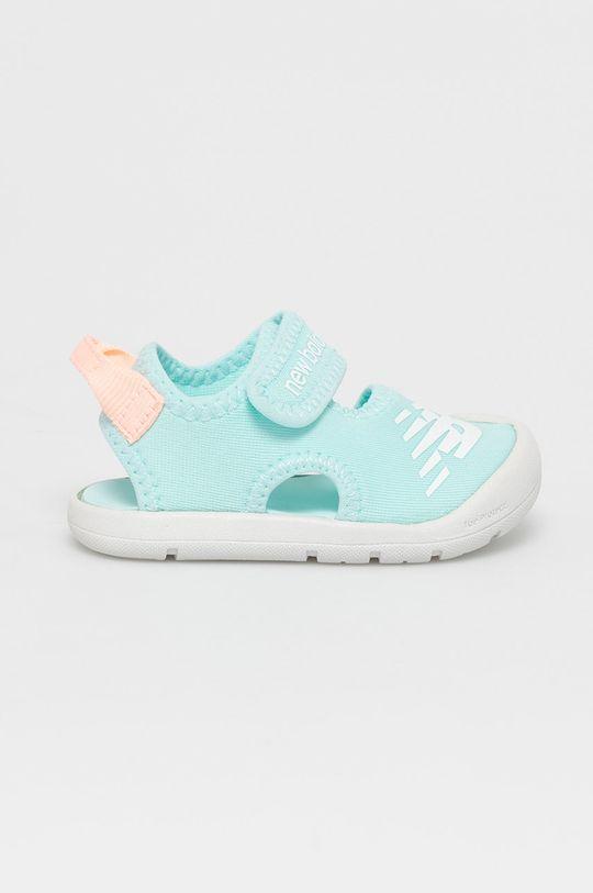 albastru deschis New Balance - Sandale copii IOCRSRMT De fete