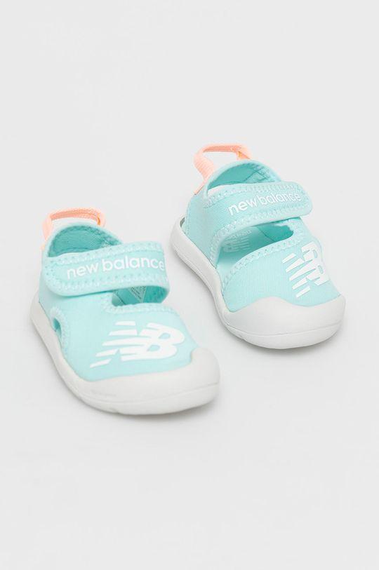 New Balance - Sandale copii IOCRSRMT albastru deschis