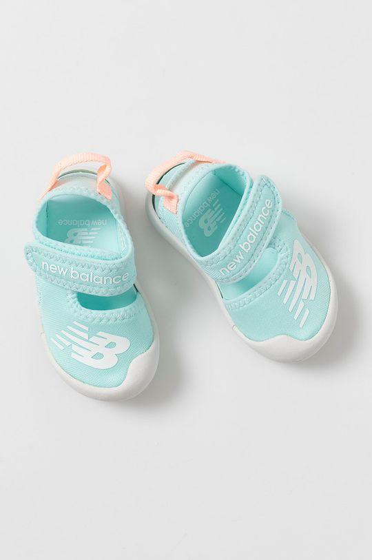 albastru deschis New Balance - Sandale copii IOCRSRMT