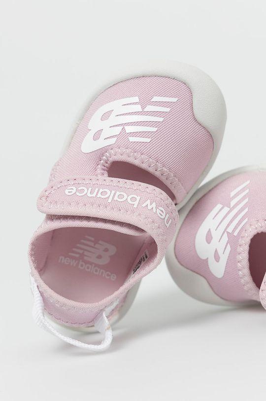różowy New Balance - Sandały dziecięce IOCRSRPP