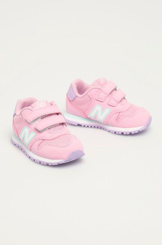 New Balance - Dětské boty IV500WPB růžová
