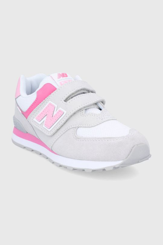 New Balance - Buty dziecięce PV574SA2 szary